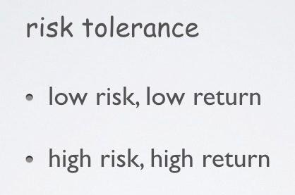 4 risk tolerance