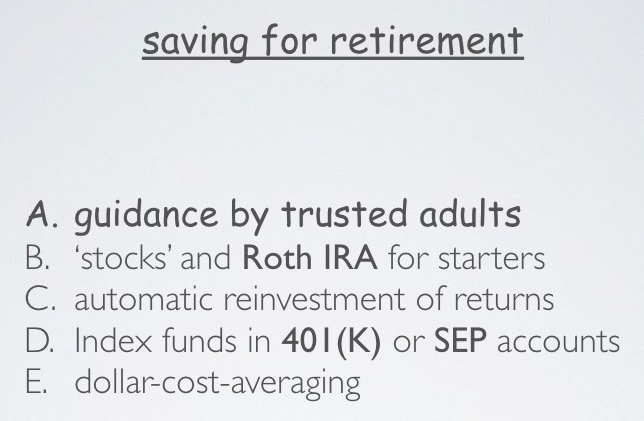 7 saving 4 retirement